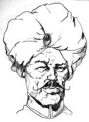 sheik yabooti sketch by boot-cheese-3000
