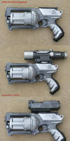 Nerf Maverick gun Repainted by Unicron9