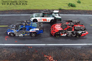 Wreckers... ROLLOUT! by Unicron9