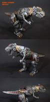 Dinobot Combiner Grimlock by Unicron9