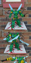 G1 Beast Wars Combiner Waspinator by Unicron9