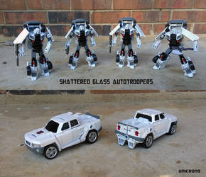 Shattered Glass Autotroopers by Unicron9