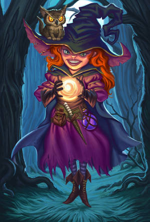 Gnome Witch by RPygusov
