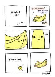 Banana Fight Club by pikarar