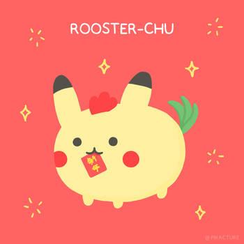 Rooster-Chu by pikarar