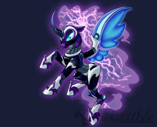 Megamare X - Nightmare Moon by Chickenwhite