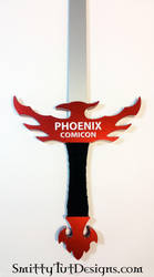 Phoenix Comicon Sword- ST Variant by Smitty-Tut