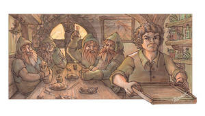 01: The Hobbit: The Arrival by ritchat