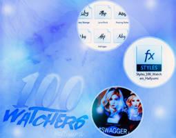 100 WATCHERS PACK by Hallyumi