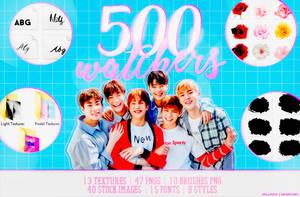 500 WATCHERS! by Hallyumi