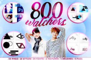 800 WATCHERS! by Hallyumi
