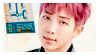 STAMP: Rap Monster #4 by Hallyumi