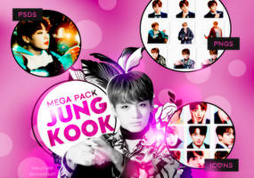 MEGA PACK: JungKook Birthday! by Hallyumi