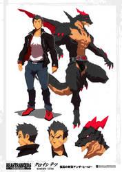 Beast Rancer Kuroishi Tetsuo by javidavie