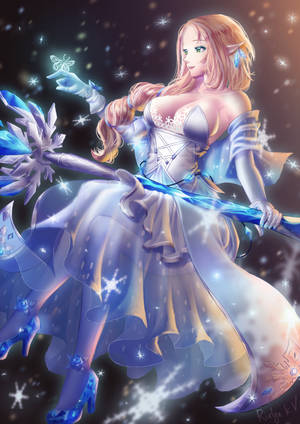 Lorraine (Snow Sage Ver.) by rialynkv