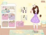 Hisakun as a lolita by Usaige