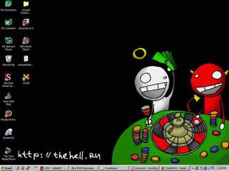 TheHell.Ru Desktop by Santavez