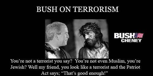 Bush on Terrorism by Santavez