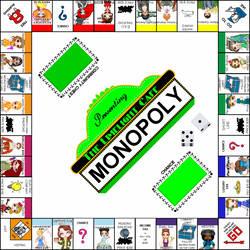 Limelight Cafe Monopoly Collab by PoppedArtDolls