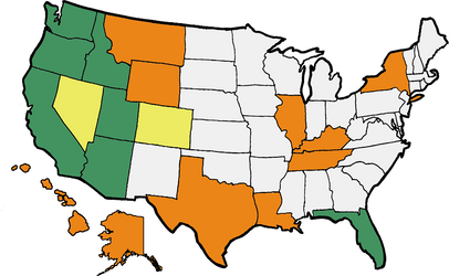 Visited states meme by PoppedArtDolls