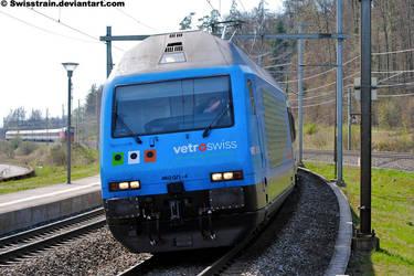 SBB Re 460 071-4 by SwissTrain