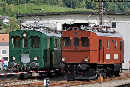 BLS Te 2-3 No.31 + EBT BDe 2-4 No.240 by SwissTrain