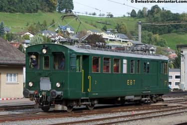 EBT BDe 2-4 No.240 by SwissTrain