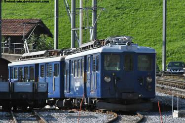 MOB BDe 4/4 3005 + 3006 by SwissTrain