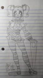 Taffy Sketch by AK-Manga