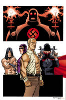 Pulp Heroes by scottygod-Color by TheDeviantMakepeace