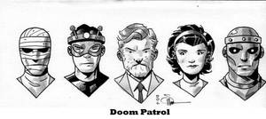 The Doom Patrol by DocShaner by TheDeviantMakepeace