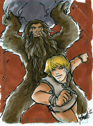 Bigfoot + by thecosmicdancer by TheDeviantMakepeace