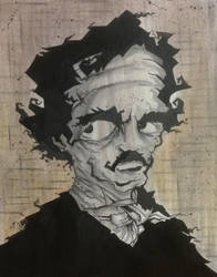Edgar Allan Poe #2 by JohnnyCoffins