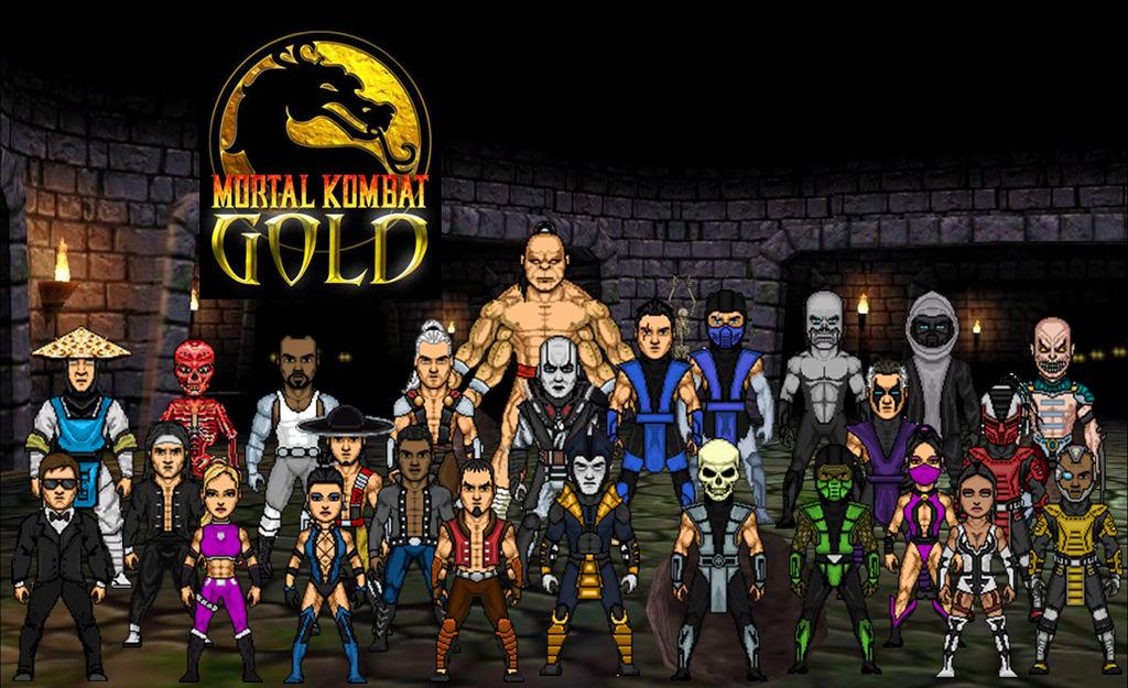 Download Mortal Kombat Gold Pc Full