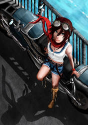 D.O.A.B Week 1: Girls on Bikes by MercurialXen