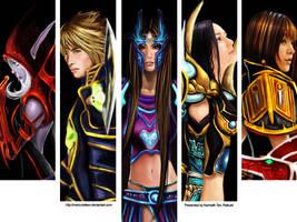 Faces of Warcraft: Color by MercurialXen