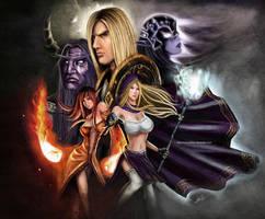 The Sentinels by MercurialXen