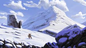 Wind-bite Trail by Don-Carceri