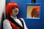 GRELL PHOTOBOMB by NotAStupidCat