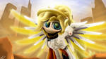 Ponified Overwatch - Mercy by SymbianL
