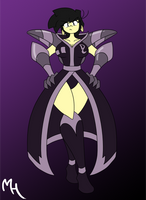 Donna Fusion! Donna + BC = Donna Chaos by DracoDragite