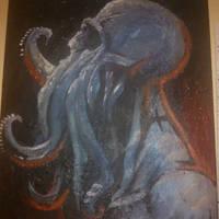 Lovecraft rising by darthdracula