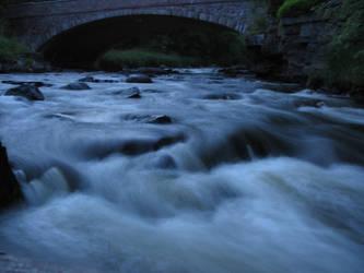 early morning river scene by abrazokoan