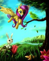 Flutterparadise by zilvart