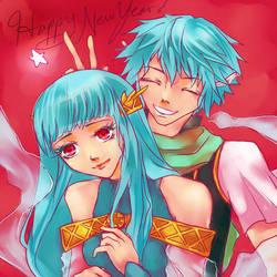 And a Happy New Year by KakeranoTsuki