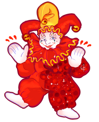 opposable thumbs the clown by ariwhy
