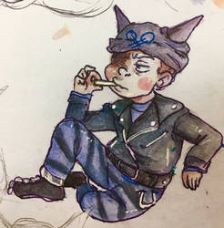 hoshi u look cool but thats still just candy by ariwhy