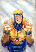 Booster Gold by JoeComicBook