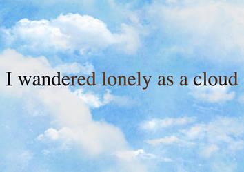 Lonely As A Cloud by Super-Noodles