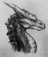 Beast of Legend by AlexandraBowmanArt
